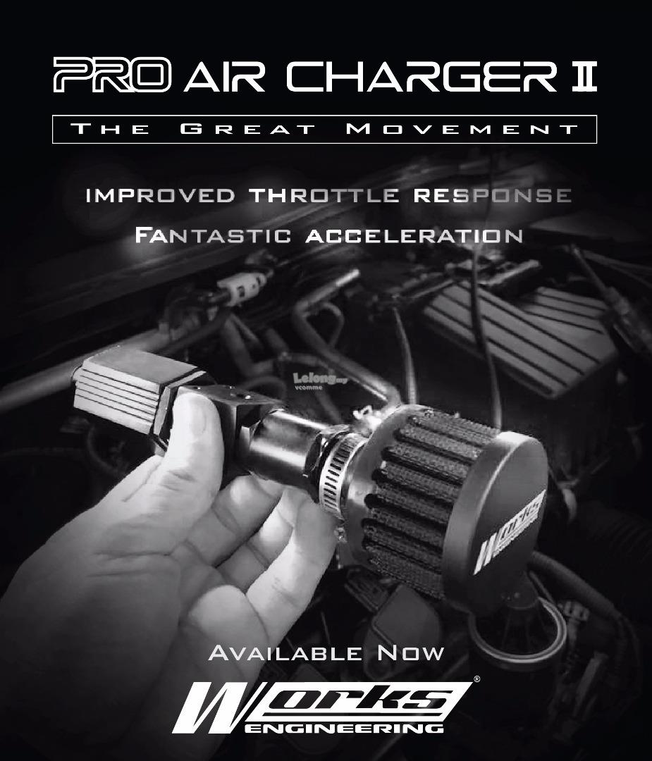 Works Pro Air Charger Type II (with Mini Air Filter)