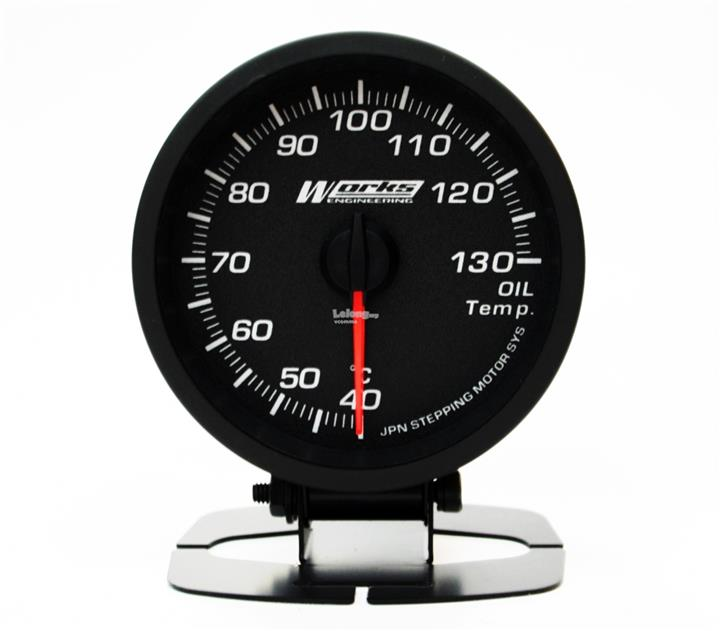 Works Pro II Gauge - Oil Temperature Gauge