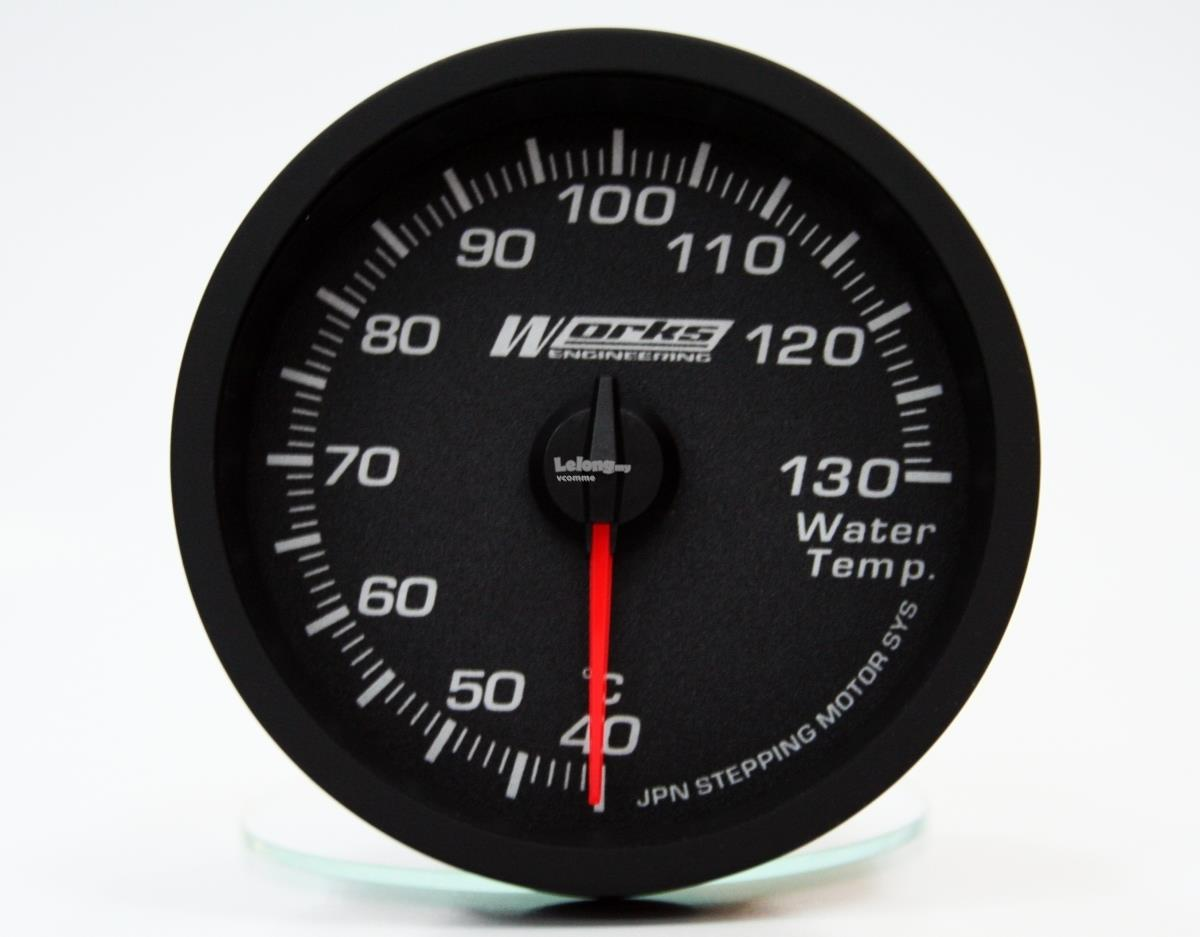 Works Pro II Gauge - Water Temperature Gauge