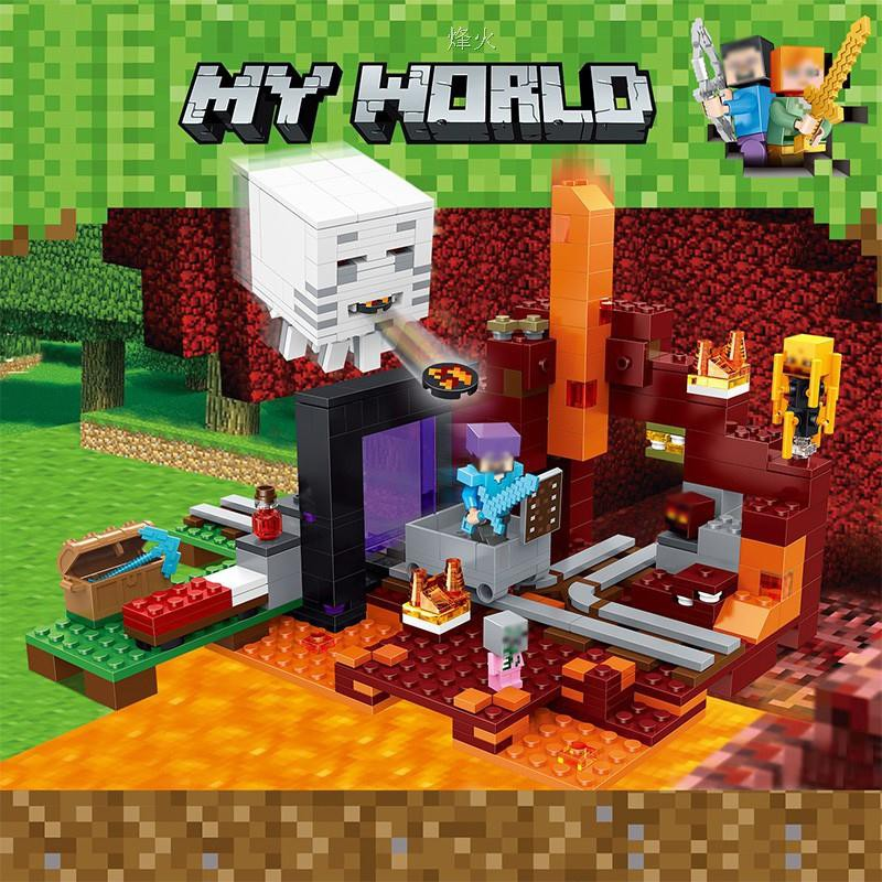 My World Ghost Castle Building Blocks compatible Legoed Minecrafted Ci