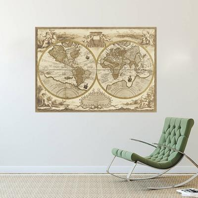 World map wall sticker diy removable end 1062019 515 pm world map wall sticker diy removable quote art decal vinyl modern room gumiabroncs Gallery