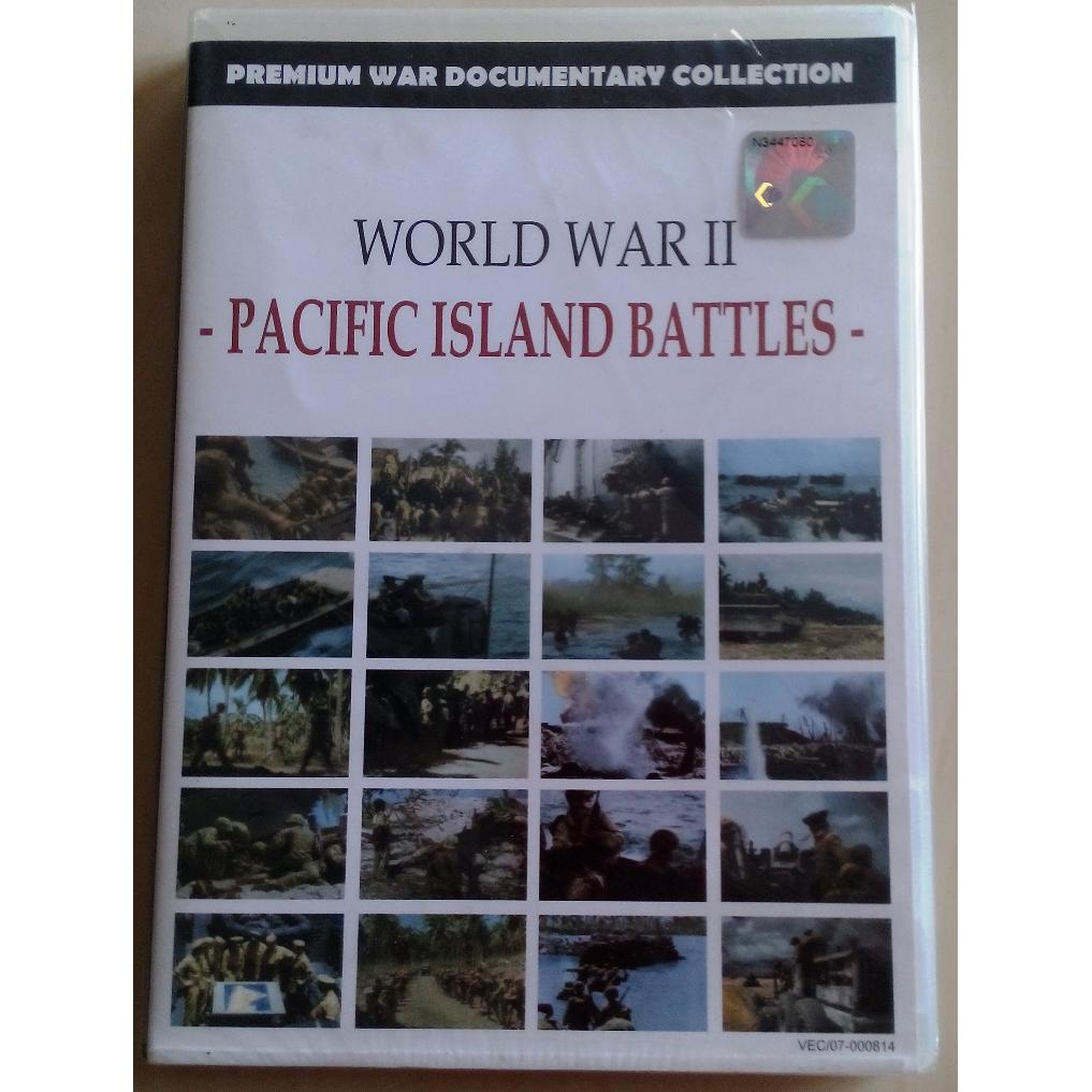 World War II - Pacific Island Battles Documentary Collection DVD