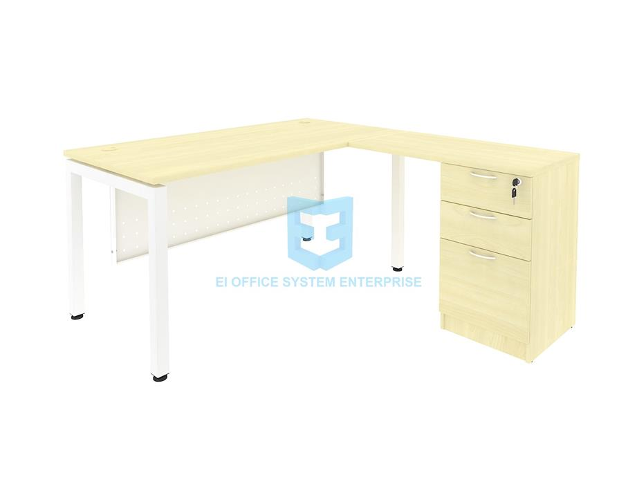Writing Table/ Office Table/ Pedestal/ Cabinet 11