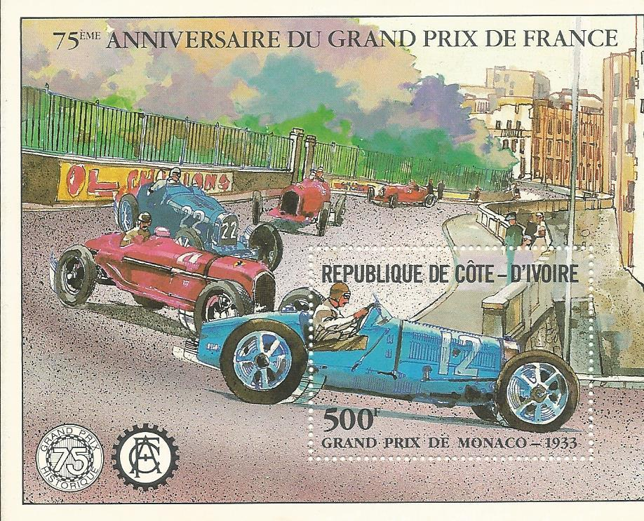 WS-27M D'IVOIRE 1993 75TH ANNIVERSARY GRAND PRIX MS