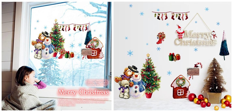WS0291 CHRISTMAS SNOW MAN & BEAR W (end 12/18/2019 10:15 AM)