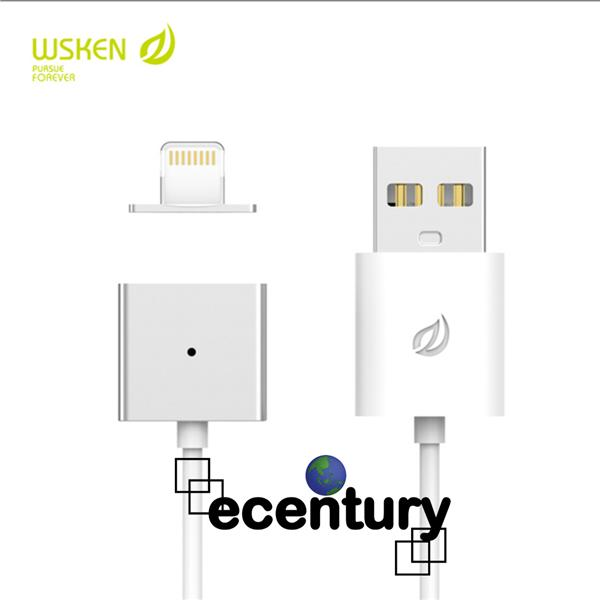WSKEN Apple iPhone X-CABLE Magnetic Lightning IOS USB Charging Cable