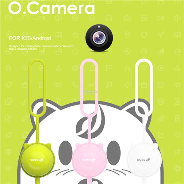 WSKEN O-CAMERA SELFIE BLUETOOTH WIRELESS REMOTER SHUTTER CONTROLLER