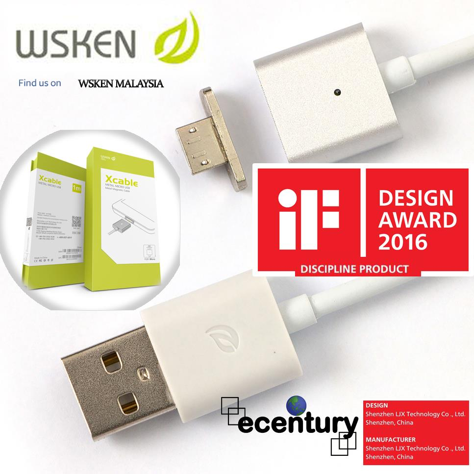 Wsken X Cable Magnetic Micro Usb Met End 8 1 2019 1200 Pm Kabel Data Xiaomi Original Fast Charging Metal Sync