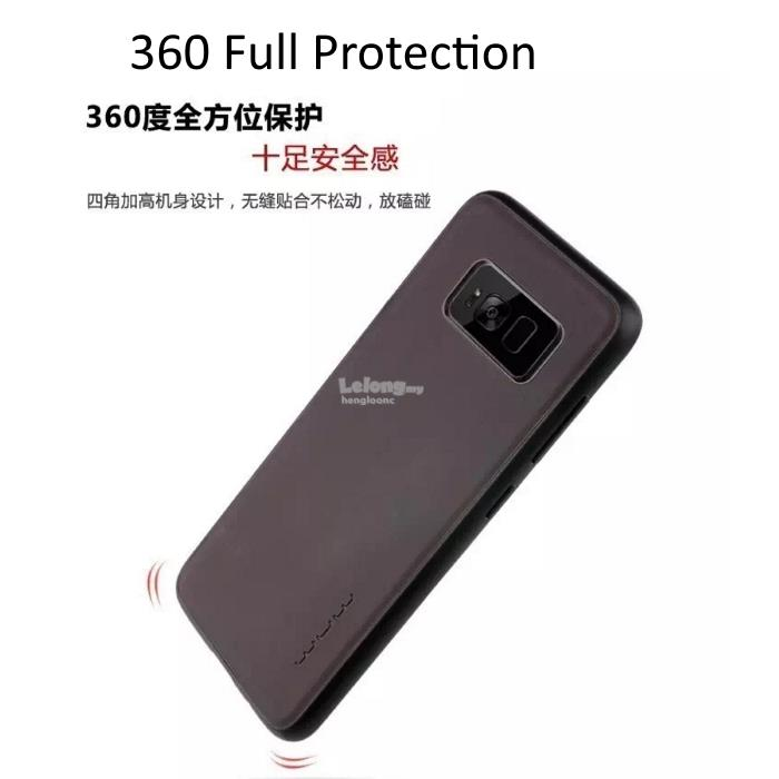WUW Thermo-Color Samsung S8 Plus,S8 Heat Sensitive Changing Color Case