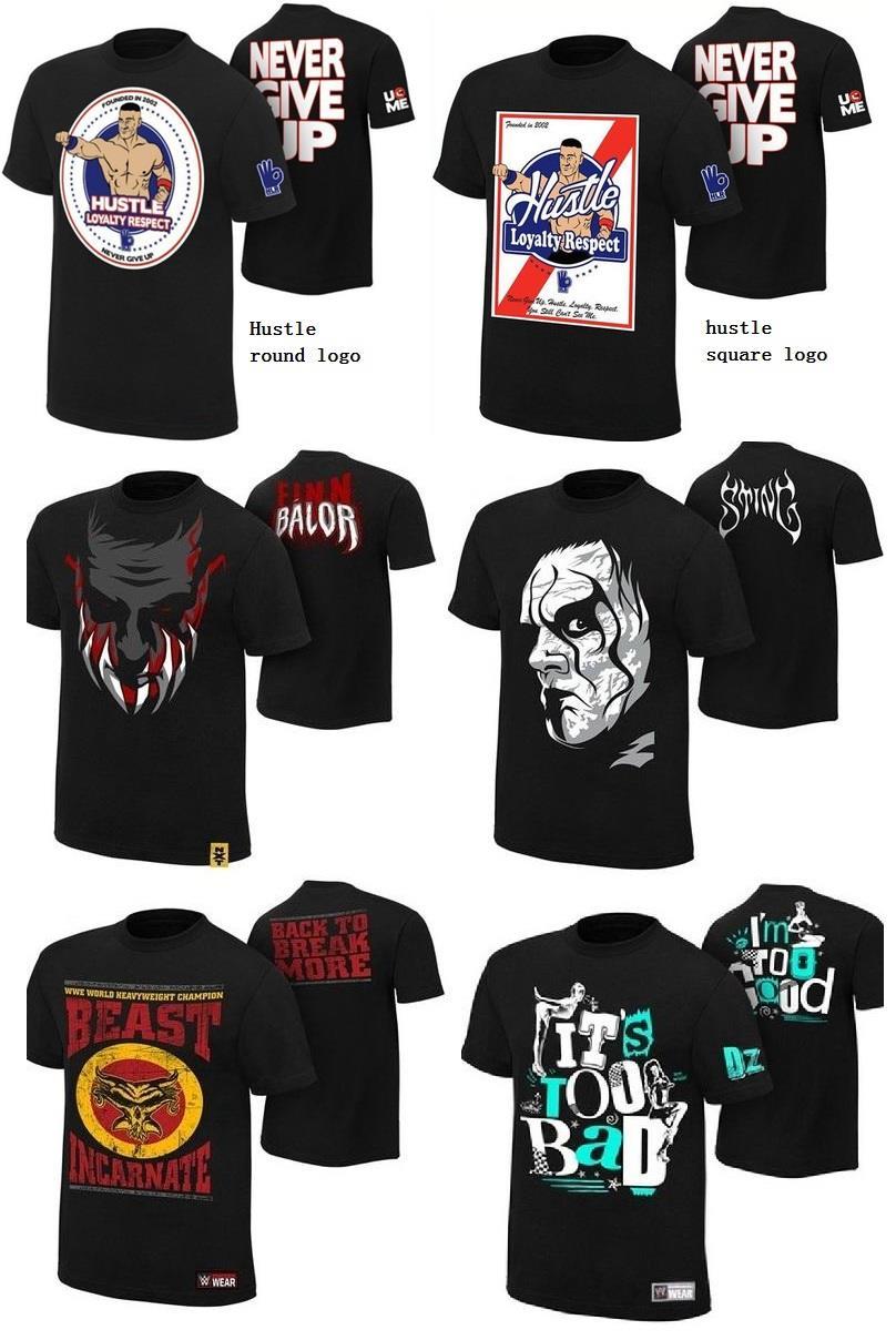 f4582a33 WWE Dolph Ziggler Sting Brock Lesnar Finn Balor John Cena T-shirt. ‹ ›