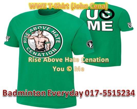 f75e697b WWE Wrestling T-Shirt Baju (John Cen (end 1/4/2020 10:15 AM)