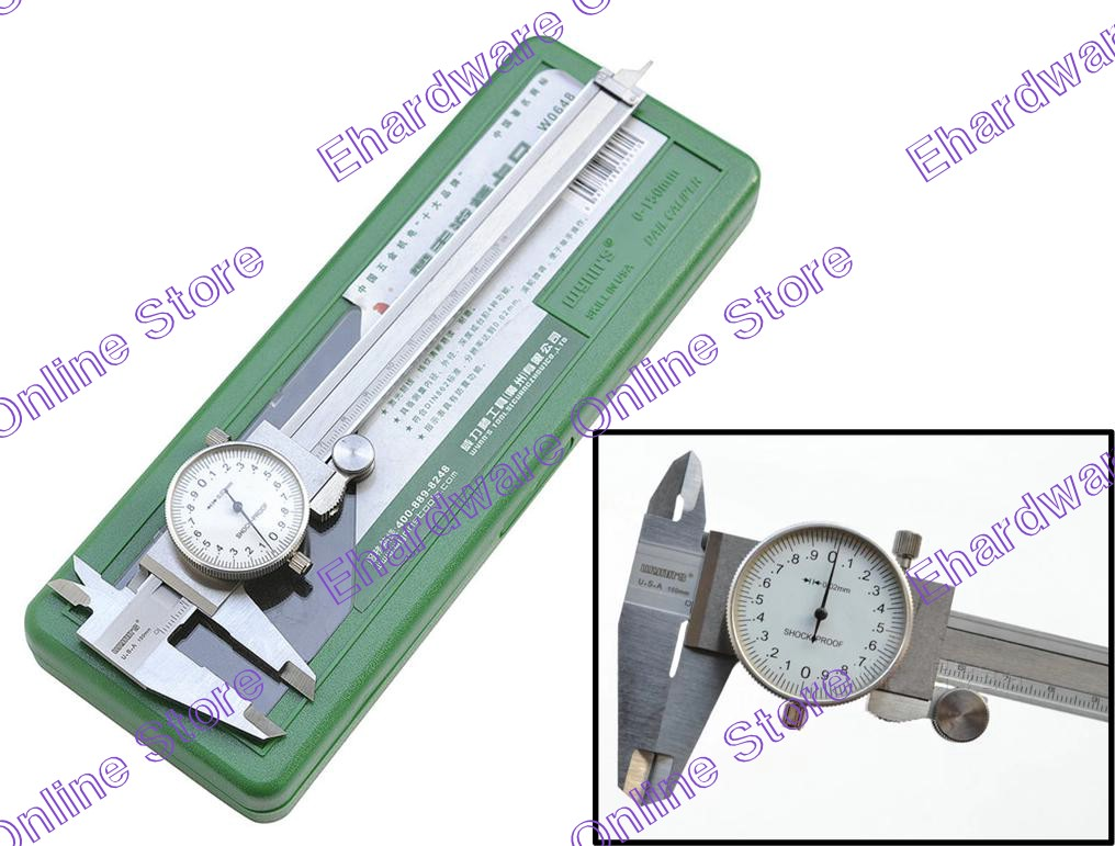 Wynns Stainless Steel Dial Caliper 150mmx0.02mm (W0648)