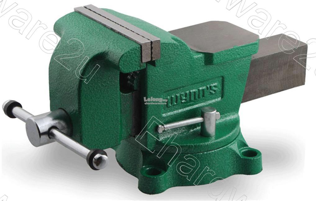 Wynns Workshop Swivel Base Bench Vise With Anvil (W2484OS)