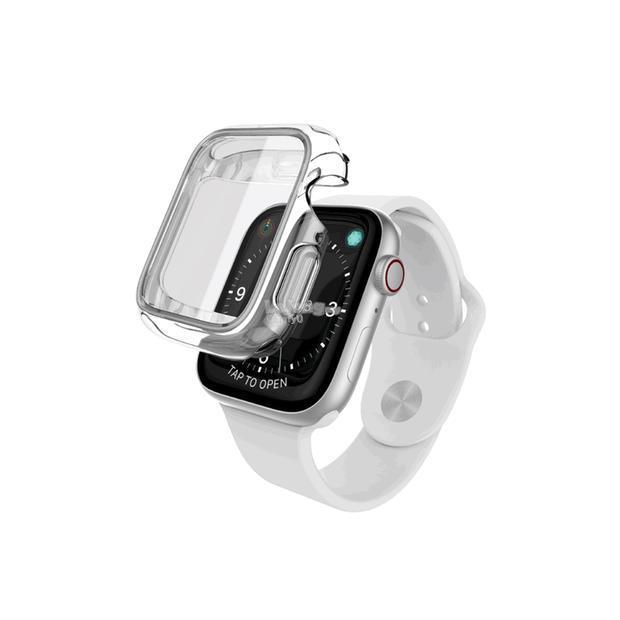 purchase cheap fd06e 52ddb X-Doria Defense 360X Ultra-Slim Hybrid Clear Case for Apple Watch Seri