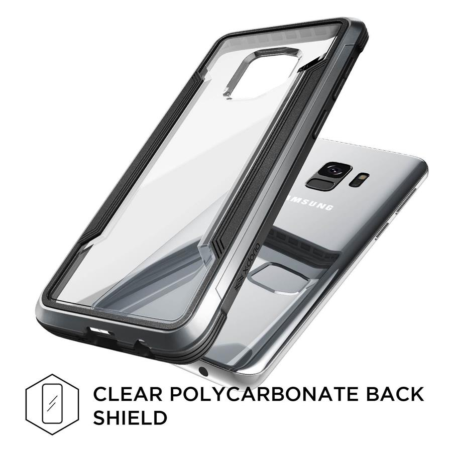 X-Doria Defense Shield Case for Samsung Galaxy S9 (Black)