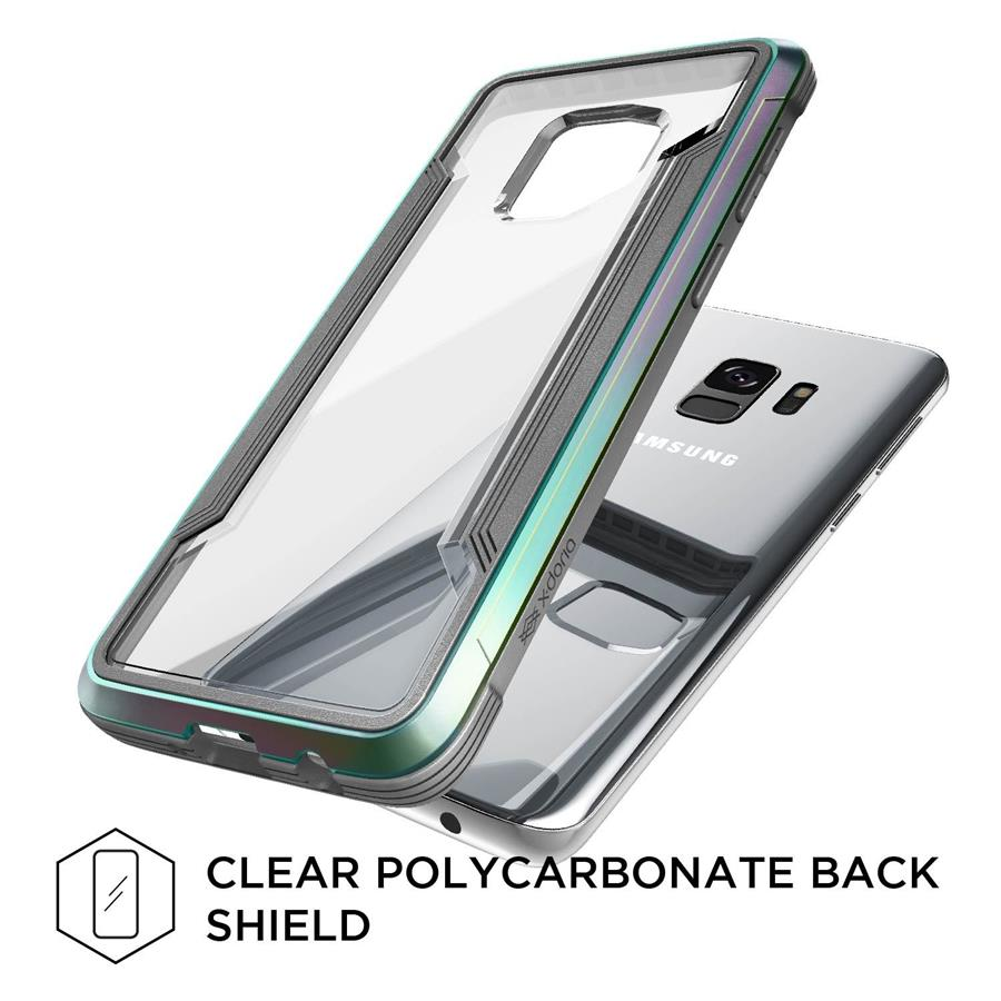 X-Doria Defense Shield Case for Samsung Galaxy S9 (Iridescent)