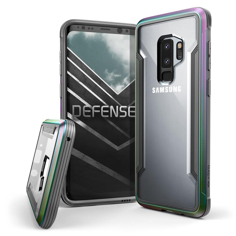 X-Doria Defense Shield Case for Samsung Galaxy S9+ (Iridescent)