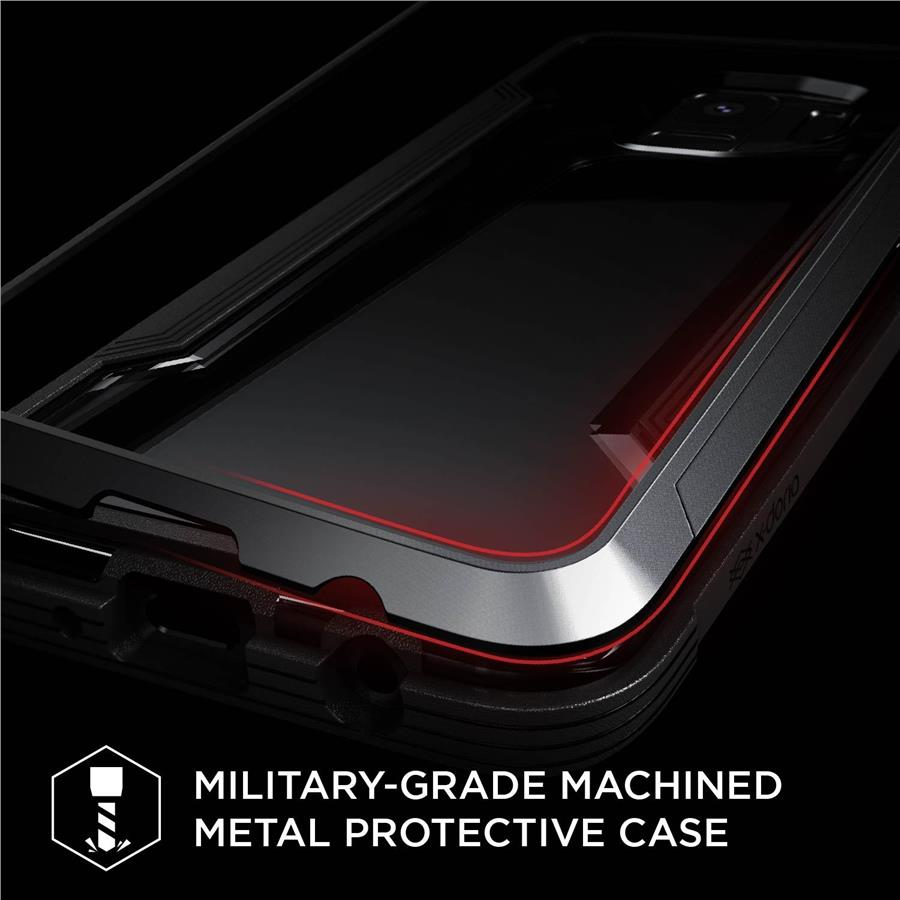 X-Doria Defense Shield Case for Samsung Galaxy S9 (Red)