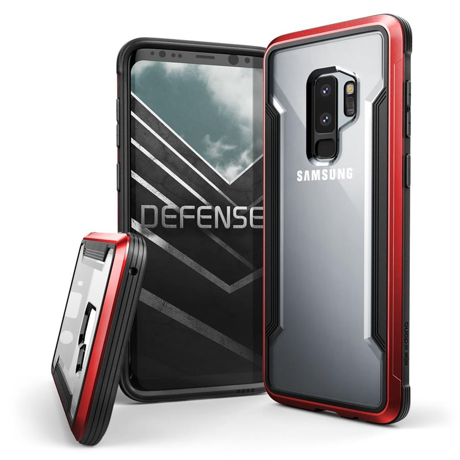 X-Doria Defense Shield Case for Samsung Galaxy S9+ (Red)