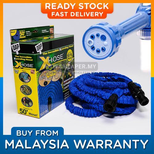 Paket Semprotan Murah EZ Jet Water Canon Dan Selang Air Magic Hose 7.5 M. Source