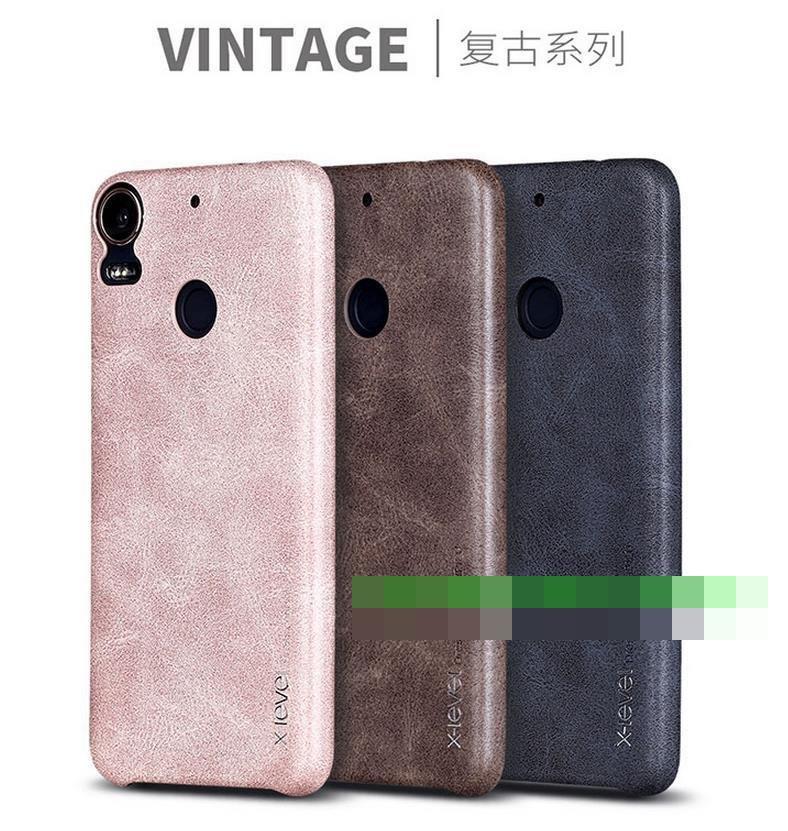 discount b50a7 63e0d X-Level HTC Desire 10 Pro Vintage Leather Back Case Cover Casing