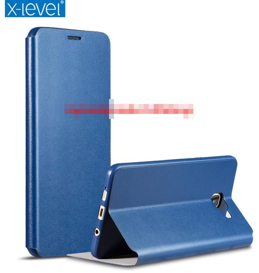 new concept 748c1 71718 X-Level Samsung Galaxy A9 / Pro Ultra Thin Flip Case Cover Casing + SP