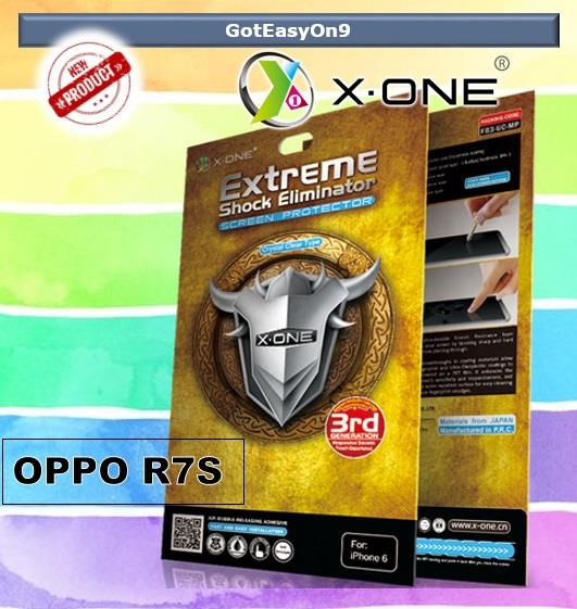 X-One Extreme Shock Eliminator Screen Protector for Oppo R7S