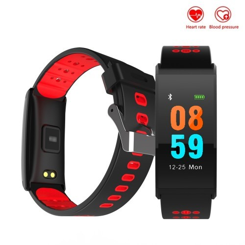 X20 Blood Pressure Heart Rate Monitor Color Display Smart Band