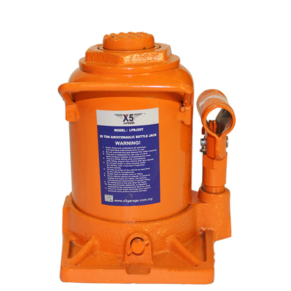 X5 *20 TON Low Profile Hydraulic Bottle Jack
