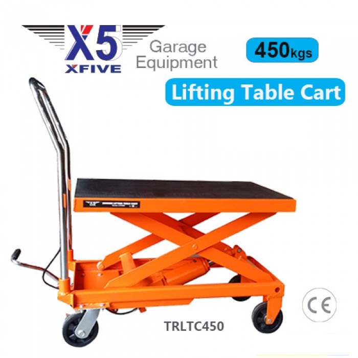 X5 450kgs Hydraulic Lifting Table Cart