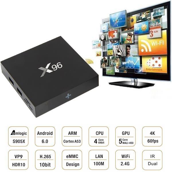 X96 Android Tv Box 2gb Ram 16gb Rom End 2 10 2018 4 15 Pm