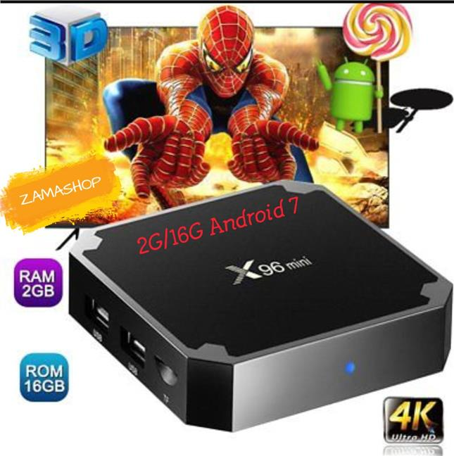 0dbec86ac09 X96 MINI SMALL BUT POWERFUL ANDROID TV BOX FULL LOADED KODI 17. ‹ ›