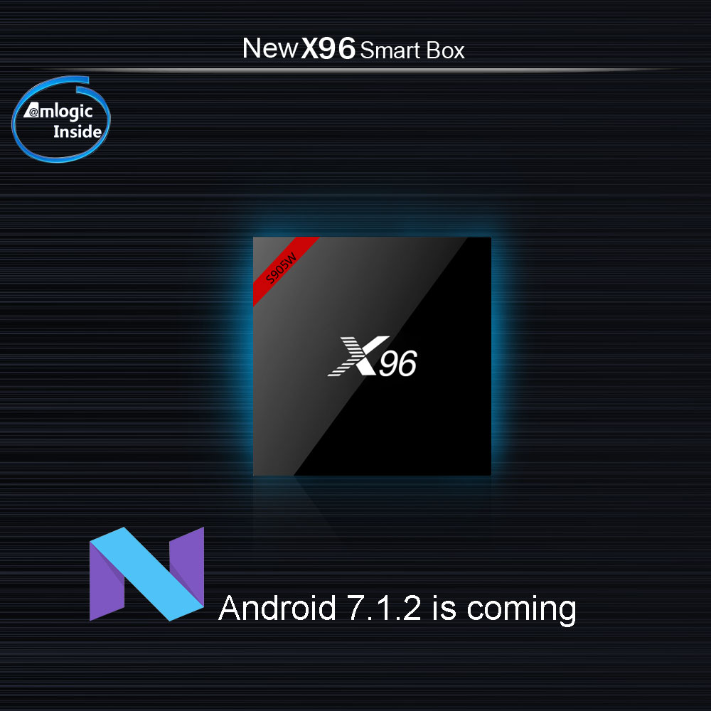 X96W Android TV Box Amlogic S905W Bluetooth 2GB +16GB