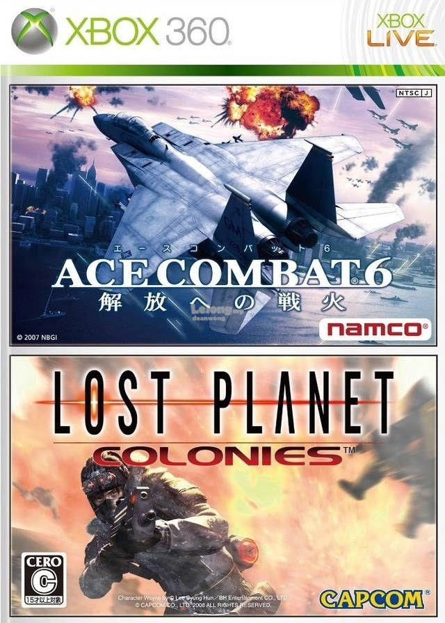 Xbox 360 Ace Combat 6 + Lost Planet Colonies (2 in 1)