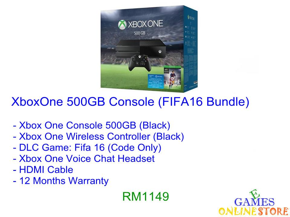 XboxOne 500GB Console (FIFA 16 Bundle) ★Brand New & Sealed&#9733..