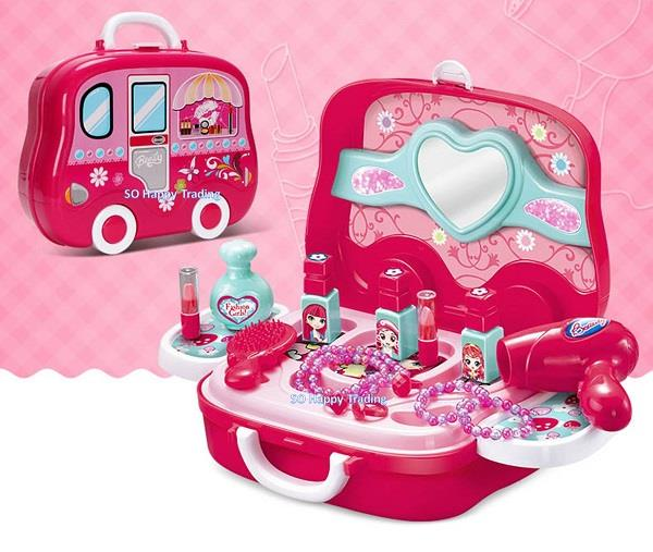 XC Pretend Play Makeup Suitcase