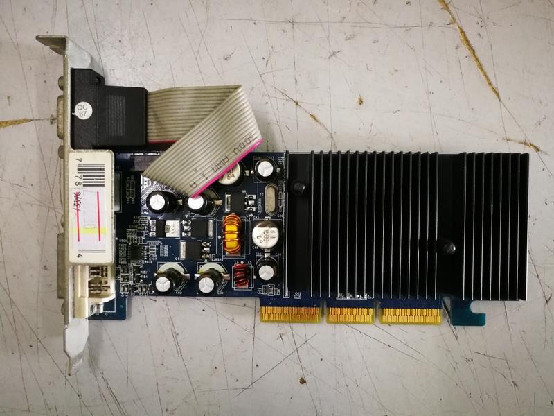 XFX GeForce 6200 256MB DDR2 AGP Graph End 4 7 2019 118 AM