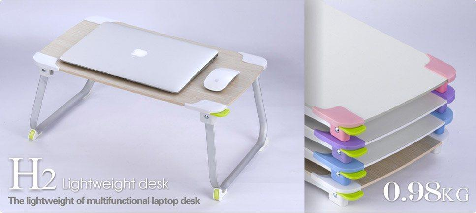 XGEAR H2L FOLDABLE PORTABLE NOTEBOOK LAPTOP DINING DESK TABLE