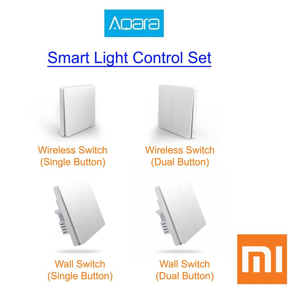 XIAOMI Aqara Smart Home Smart Light Control Wifi ZigBee Wall Switch