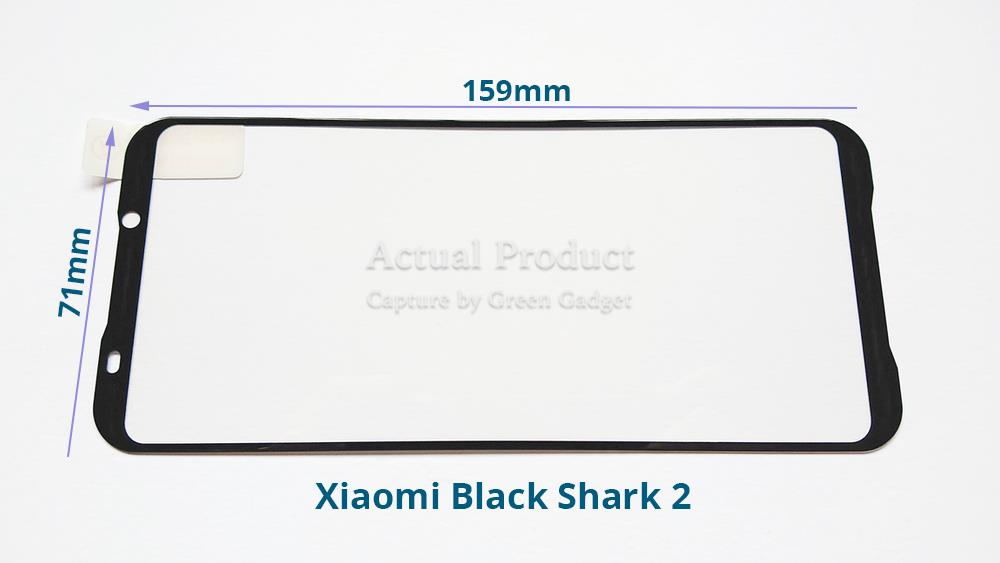 Xiaomi Black Shark 2/2 Pro Full Glue Screen Protector Tempered Glass