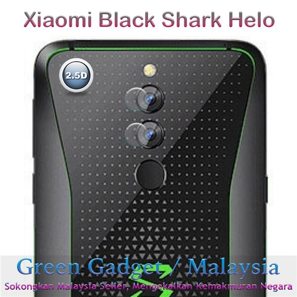 Xiaomi Black Shark Helo Camera Protector 2.5D Flexible Glass