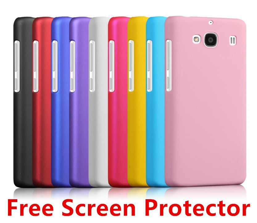 meet 97fdf f908b Xiaomi Hongmi Redmi 2 Hongmi2 Redmi2 Back Case Cover + Free SP