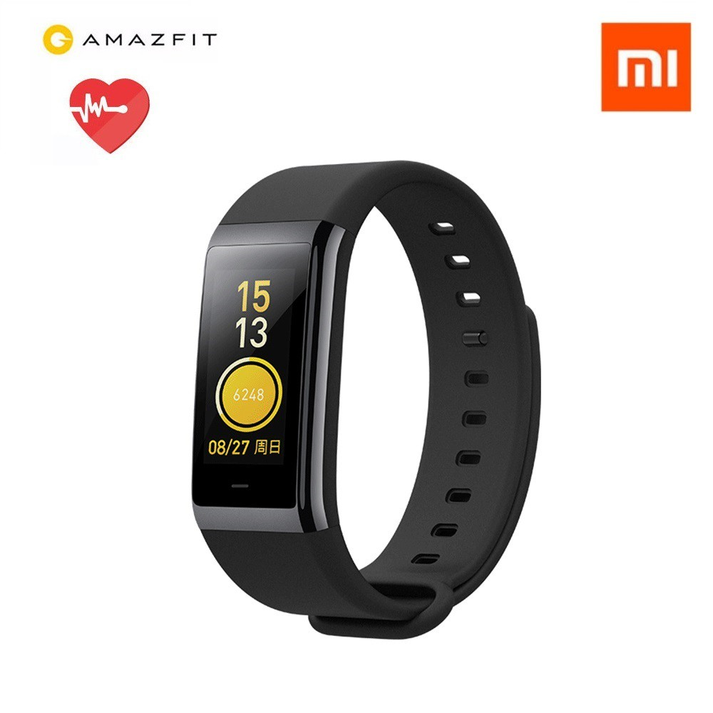 Xiaomi Huami Amazfit Heart Rate Monitor Color Display Waterproof Smart Band