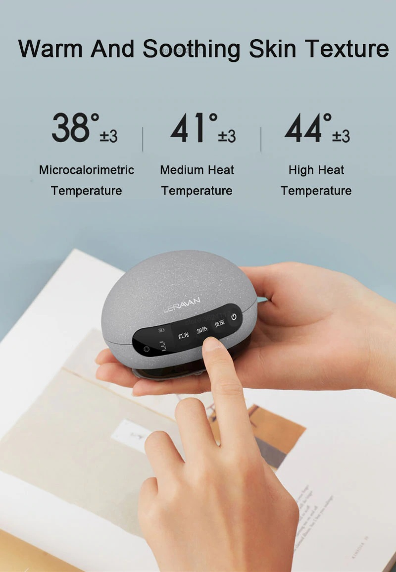 Xiaomi Leravan Mi Youpin Mini Cupping Machine Scraper Thermal Infrared