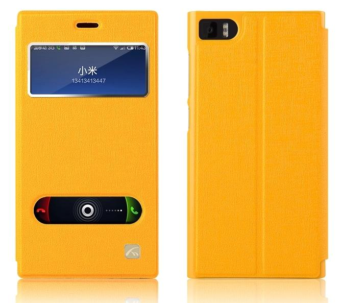 Xiaomi MI-3 mi3 Flip Case Cover + Free Screen Protector & Gifts