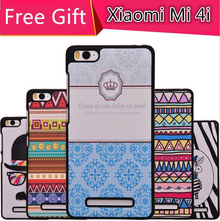 Xiaomi Mi 4i Mi4i Cartoon ShakeProof Back Case Cover Casing +Free Gift