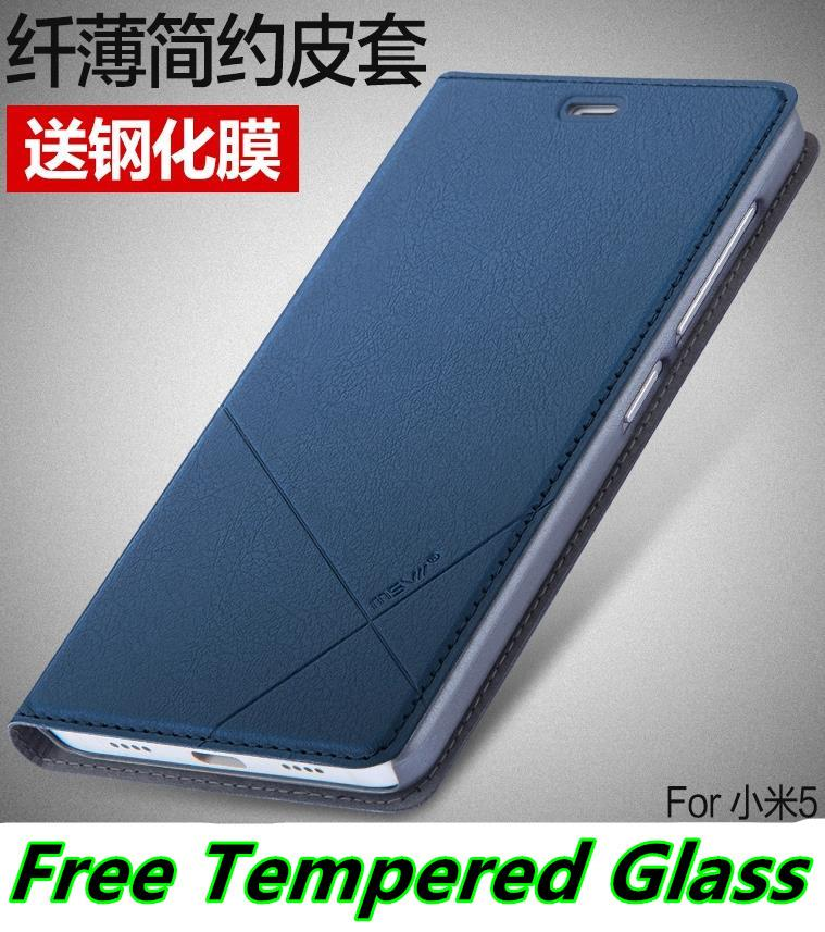 detailed look 0db69 832c4 Xiaomi Mi 5 Mi5 Redmi Note 3 Pro Flip Case Cover Casing +Free Glass SP