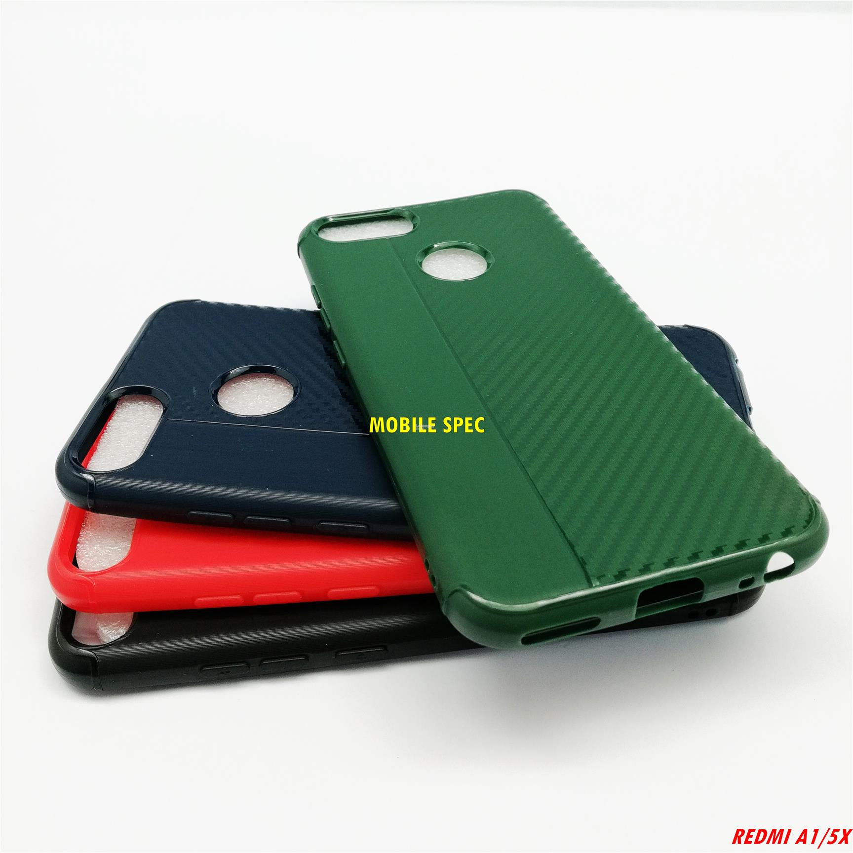 XiaoMi Mi A1 / 5X Flexible Silicone Carbon Soft Cover Color Case