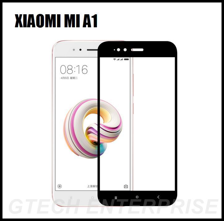 innovative design feada fc74c Xiaomi Mi A1 5X Full Cover 9H Tempered Glass Screen Protector