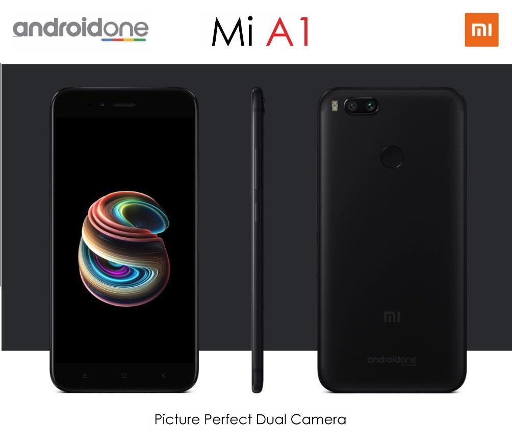 Xiaomi Mi A1 [64GB ROM + 4GB RAM] - Original Import Set [Sealed Box]